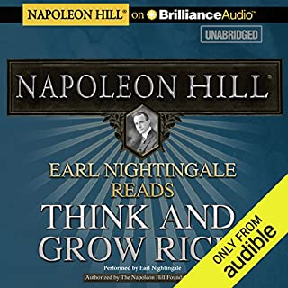 Earl Nightingale Reads Think and Grow Rich audiobook cover art