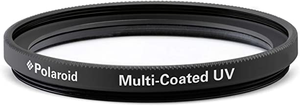 Polaroid Optics -55mm Multi-Coated UV & Protection Filter – Compatible w/ All Popular Camera Lens Models