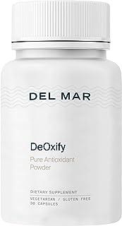 Del Mar Labs DeOxify - Pure Astaxanthin - 30 Veggie Capsules - Organic Antioxidant Supplement from Deep-Sea Algae - Helps ...