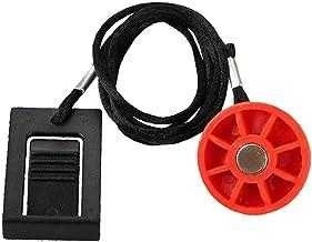 Veiligheidssleutel, loopband, magnetisme, veiligheidsvergrendeling, rond, Halloween-schakelaar, rode activeringsschakelaar...