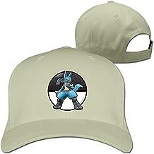 MZONE Particular Lucario Unisex Baseball Visor Cap Black
