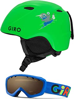 Giro Slingshot CP Kids Snow Helmet w/Matching Goggles