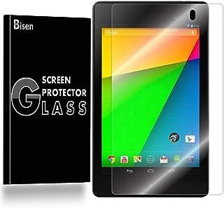 [2 件装 BISEN] 谷歌 Nexus 7(*二代)钢化玻璃屏幕保护膜,防刮、防震、终身保护