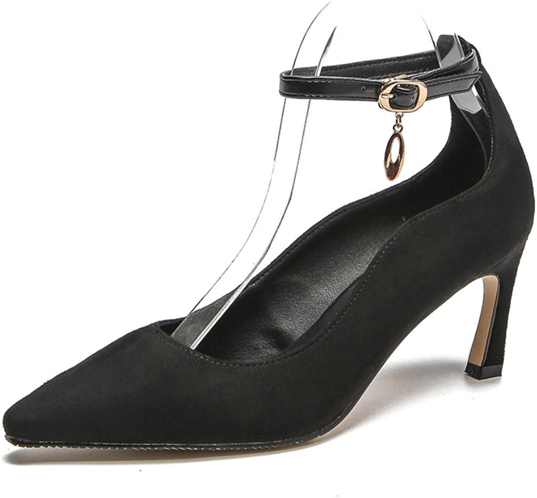 Stiletto Heel High Heels Sandals Platform Women Girls Bride Wedding Party Night Club Bar Modern Office Ladies shoes,7Cm,Black,EU37