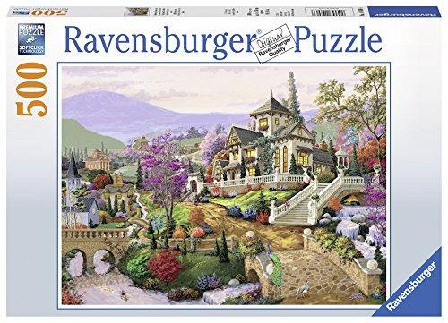Hillside Retreat 500 PC Puzzle
