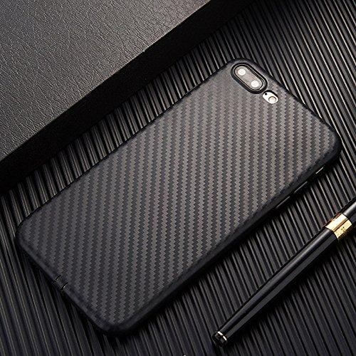 "PE for Apple iPhone 6s/6 Plus Slim Carbon Fiber TPU Soft Phone Back Case Cover Skin (Black for iPhone 6s/6 Plus 5.5"")"