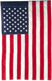Evergreen Flag American Flag Garden Size Applique Flag - 12.5 x 18 Inches Outdoor Patriotic Americana Decor for Homes and ...