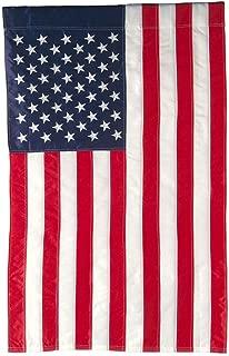 Evergreen Flag American Double Sided Denier Nylon Garden Flag - 18