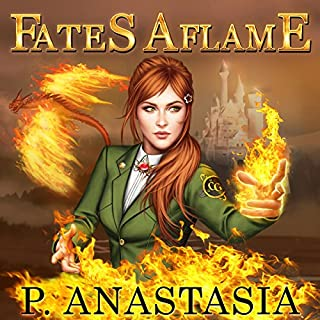 Fates Aflame audiobook cover art
