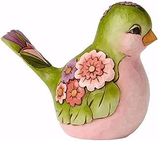 Jim Shore HWC Bright and Beautiful Green Floral Bird Figurine 4056960 Animal New
