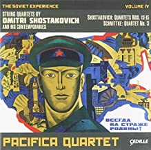 The Soviet Experience, Vol. 4: String Quartets by Dmitri Shostakovich and his Contemporaries. by Pacifica Quartet (2013-11-19)