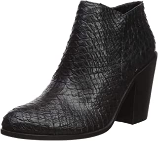 Women's Arezzo Stacked Heel Ankle Bootie Boot