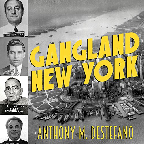 Gangland New York audiobook cover art