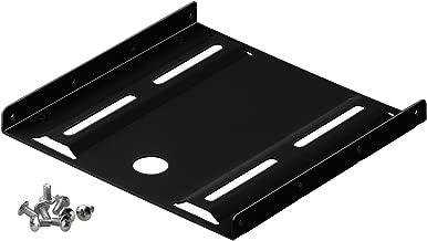 """Goobay 93990 Telaio di Installazione per Hard Disk da 2, 5"""" in 3, 5"""", Nero"""