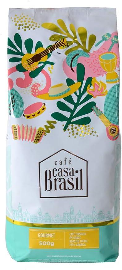 Café em Grãos Gourmet, Café Casa Brasil Gourmet Grão, 100% arábica, 500g