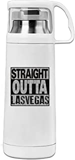 Straight Outta Las Vegas Stainless Steel Insulated With Lid Cup Vacuum Mug
