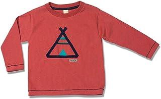 Camiseta de Manga Longa Cabana Vermelha Green - Toddler Menino