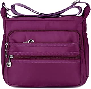 Crossbody Bags for Women Water Resistant Lightweight Nylon With Shoulder Bags