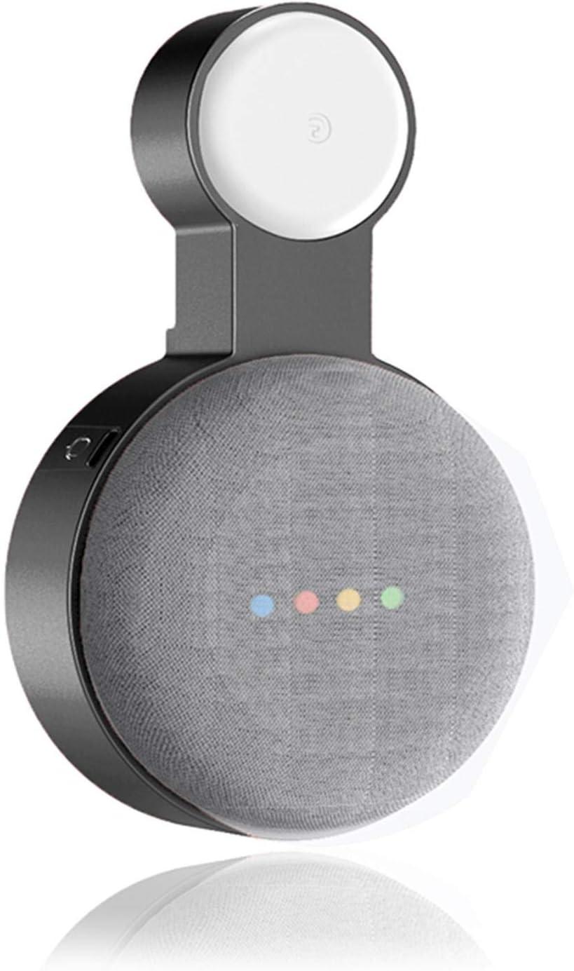 TLLY Soporte de Montaje en Pared de Salida para Google Nest Mini Accesorios de Montaje en Salida para Google Nest Mini Soporte de Montaje en Pared Que Ahorra Espacio