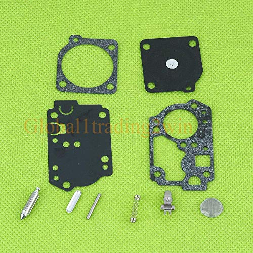 CNOP Accessory Replacement Parts for Huq Carburetor Repair Kit for Poulan Weed Eater Craftsman Sears 32Cc Trimmer Rb-142 Parts