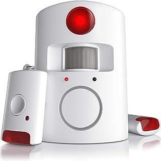 CSL - Kit de sistema de alarma antirrobo inalámbrico por infrarrojos | sistema de seguridad para