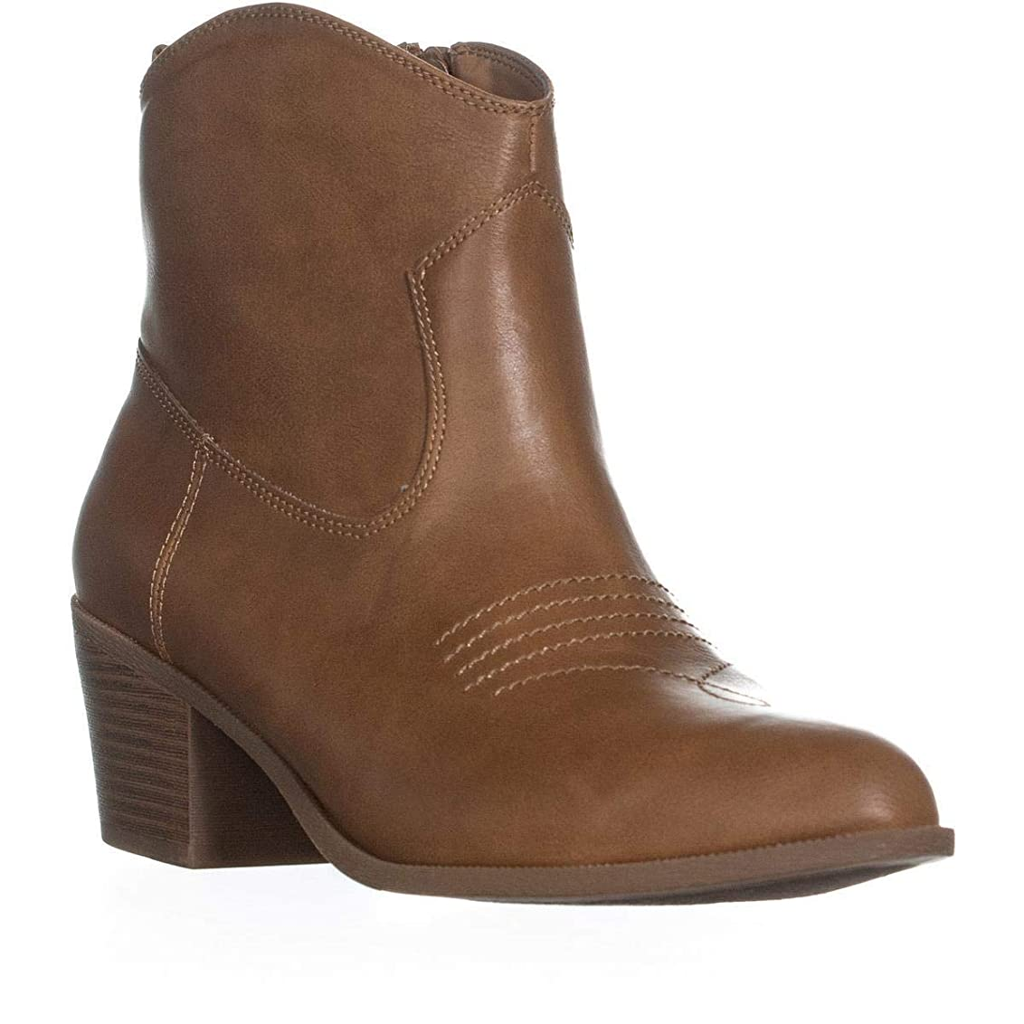 他の日青円形[Style & Co.] Womens Mandyy Closed Toe Ankle Cowboy Boots [並行輸入品]