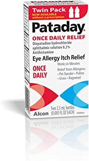 Alcon Pataday Once Daily Relief 0.085 Fl Ounce Twin Pack