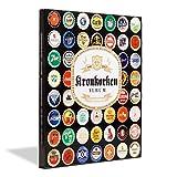 PRESSO-Album für 64 Kronkorken: Kronkorkenalbum PRESSO für 64 Kronkorken