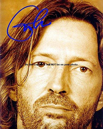 Eric Clapton Autographed Preprint Signed Photo 2