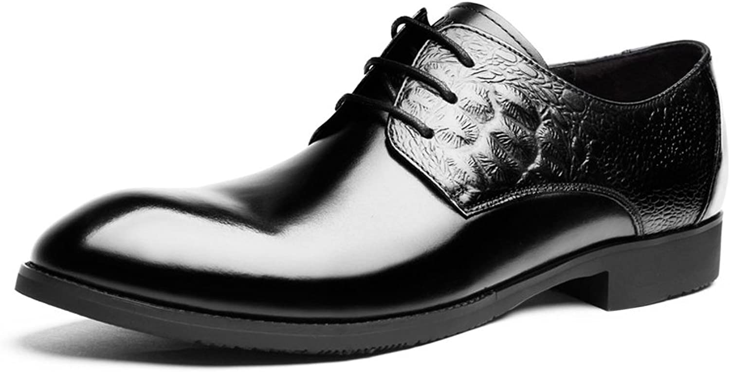 DESAI Herren Business Derby Brogue Schnürhalbschuhe