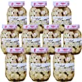Wholesale Vanussanun Pickled Garlic Pack of 10 Bottle Jar 11.28 oz 320 gram Thai Style from Vanussanun