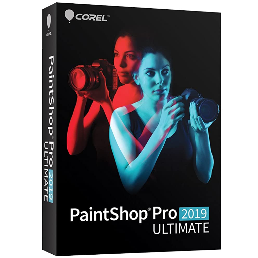 PaintShop Pro 2019 Ultimate - Photo Editing & Bonus Collection - Amazon Exclusive [PC Disc]