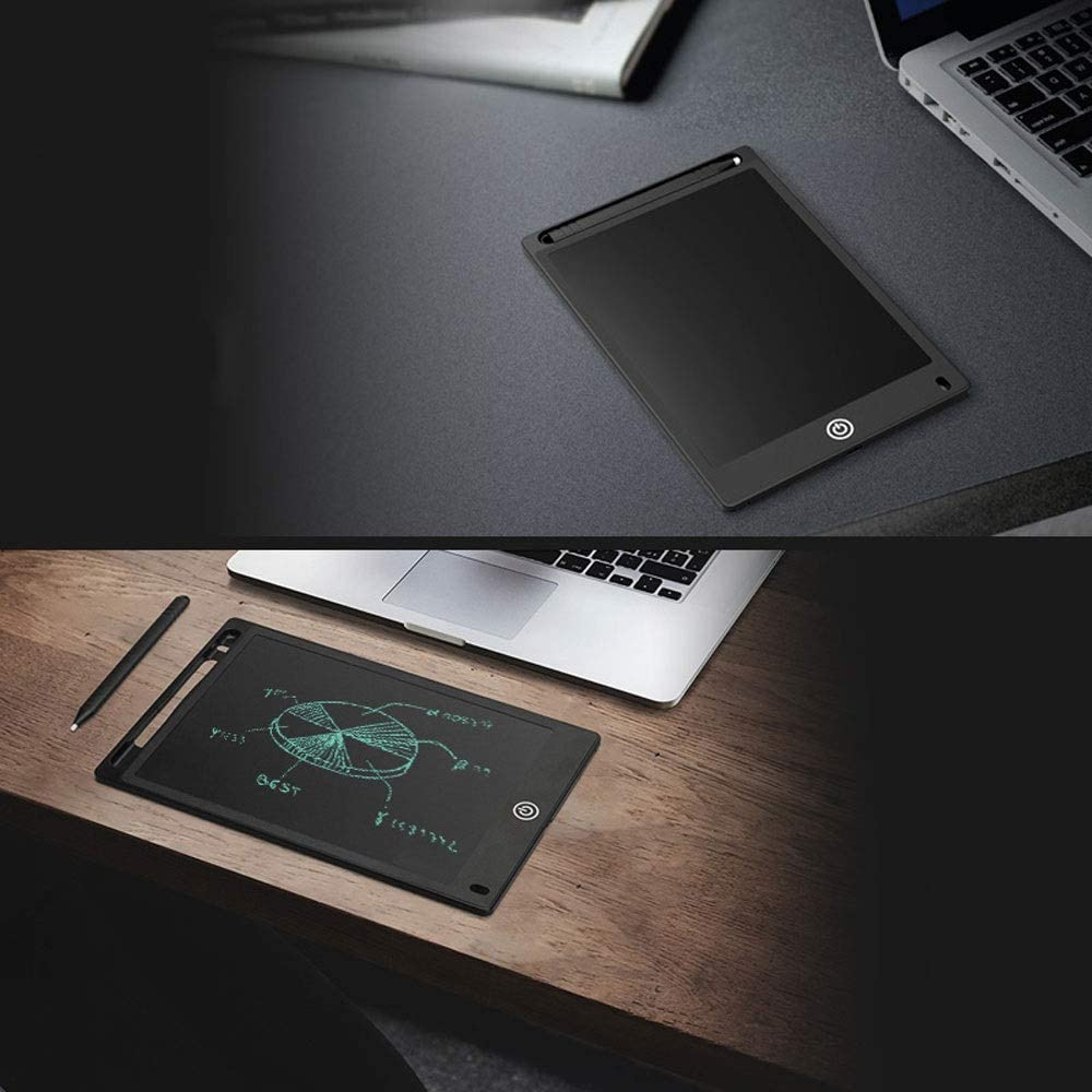 Fighrh 8.5Inch LCD Writing Tablet Electronic Writing Board Digital Drawing Board Graphic Drawing Tablet Durable LCD Writing Tablet Digital Ewriter Color : Khaki