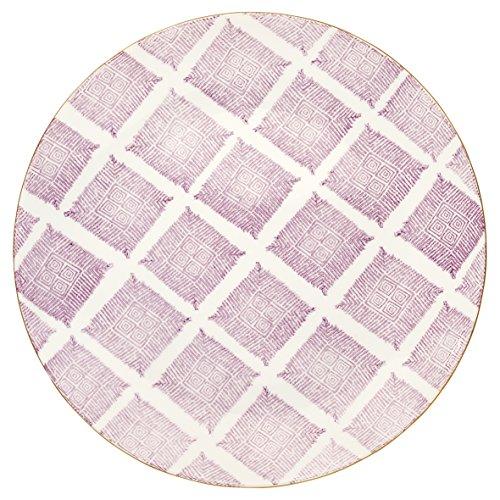 Green Gate stwdinwkas7206 Kassandra Assiettes Plates Lavande 25,3 cm