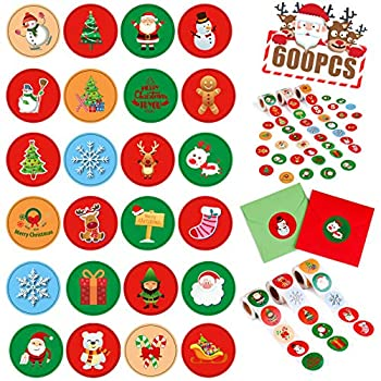 Best christmas stickers for cards Reviews