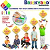 Brickyard Building Blocks STEM Toys & Activities - Educational Building Toys for Kids Ages 4-8 w/ 163 Pieces, Kid-Friendly Tools, Design Guide and Toy Storage Box #3