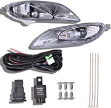 $33 » shamoluotuo Clear Fog Lights Kit for 2002-2004 Toyota Camry/2005-2008 Corolla w/Chrome Cover Black Bezel Wiring Switch Bulbs Left & Right Bumper Driving Assembly Lamps OEM Requirements