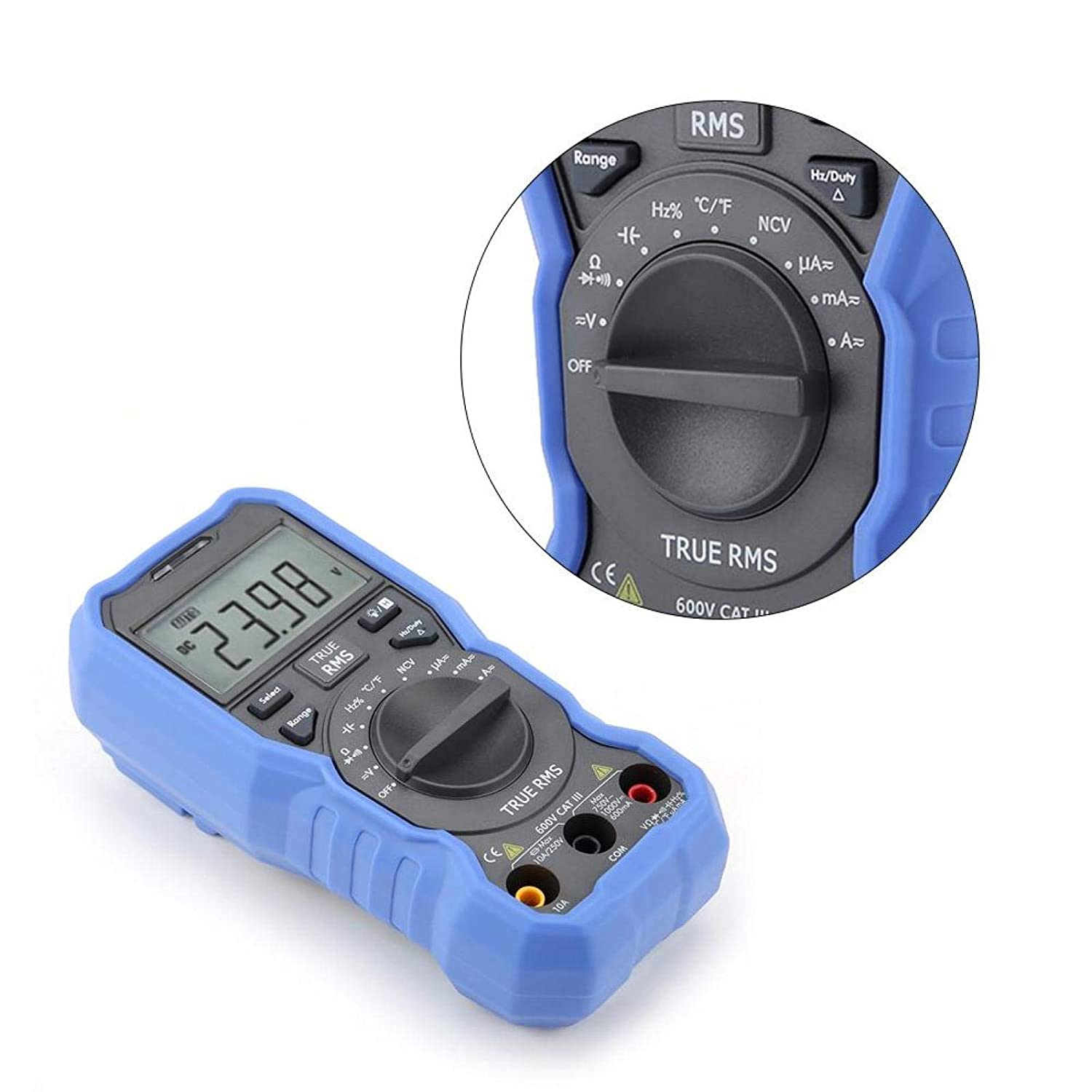 Multimeter Digital quality assurance Bombing new work for Measuring Frequency Resistance OW16A
