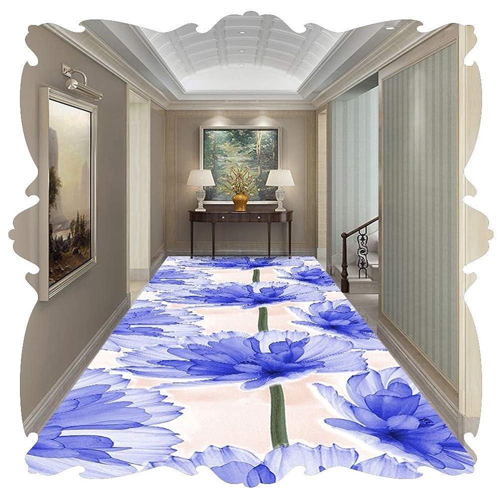 接続詞スローガン渇きLIXIONG 廊下敷きカーペット?3D 通路 範囲 ラグ 室内装飾 ベッドサイド カーペット 入り口 玄関マット 屋内 フロアマット、43サイズ (Color : A, Size : 1.4x1.5m)