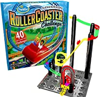 ThinkFun Roller Coaster Challenge STEM Toy and Building Game