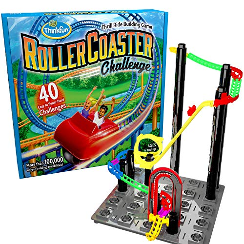 ThinkFun Roller Coaster Challenge STEM Toy review