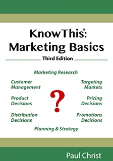 KnowThis: Marketing Basics, Third Edition
