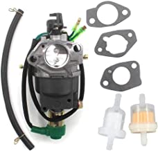 AISEN Generator Carburetor CARB Fuel Filter for Harbor Freight Chicago Electric 98838 98839 13HP 6500W