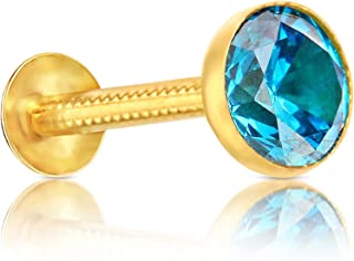 Amazon In Blue Nose Rings Pins Women Jewellery