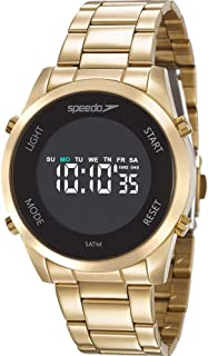 Relógio Speedo Feminino Ref: 24873lpevde1 Digital Dourado