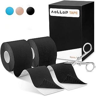نوار کینزیولوژی ، نوار ورزشی ضد آب Aollop Premium نوار فیزیکی نوار عضلانی نوار حرکت شناسی برای تسکین درد ، عضله