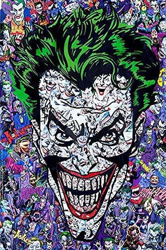 2000 pezzi Puzzle Joker cartoni animati adulti divertente Puzzle interessanti per bambini adulti giocattoli regali fai da te Gamedm 100x71cm