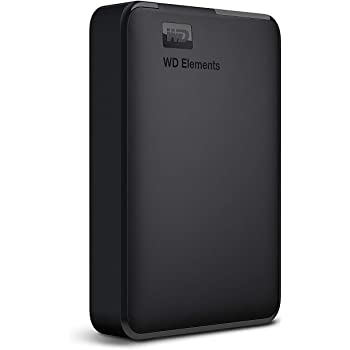 WD 4TB Elements Portable External Hard Drive, USB 3.0 - WDBU6Y0040BBK-WESN