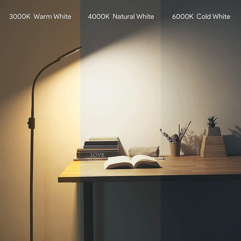 Lámpara LED de pie Gener regulable con 3 temperaturas por 23,99€ usando el #código: 2SAY5H4Q