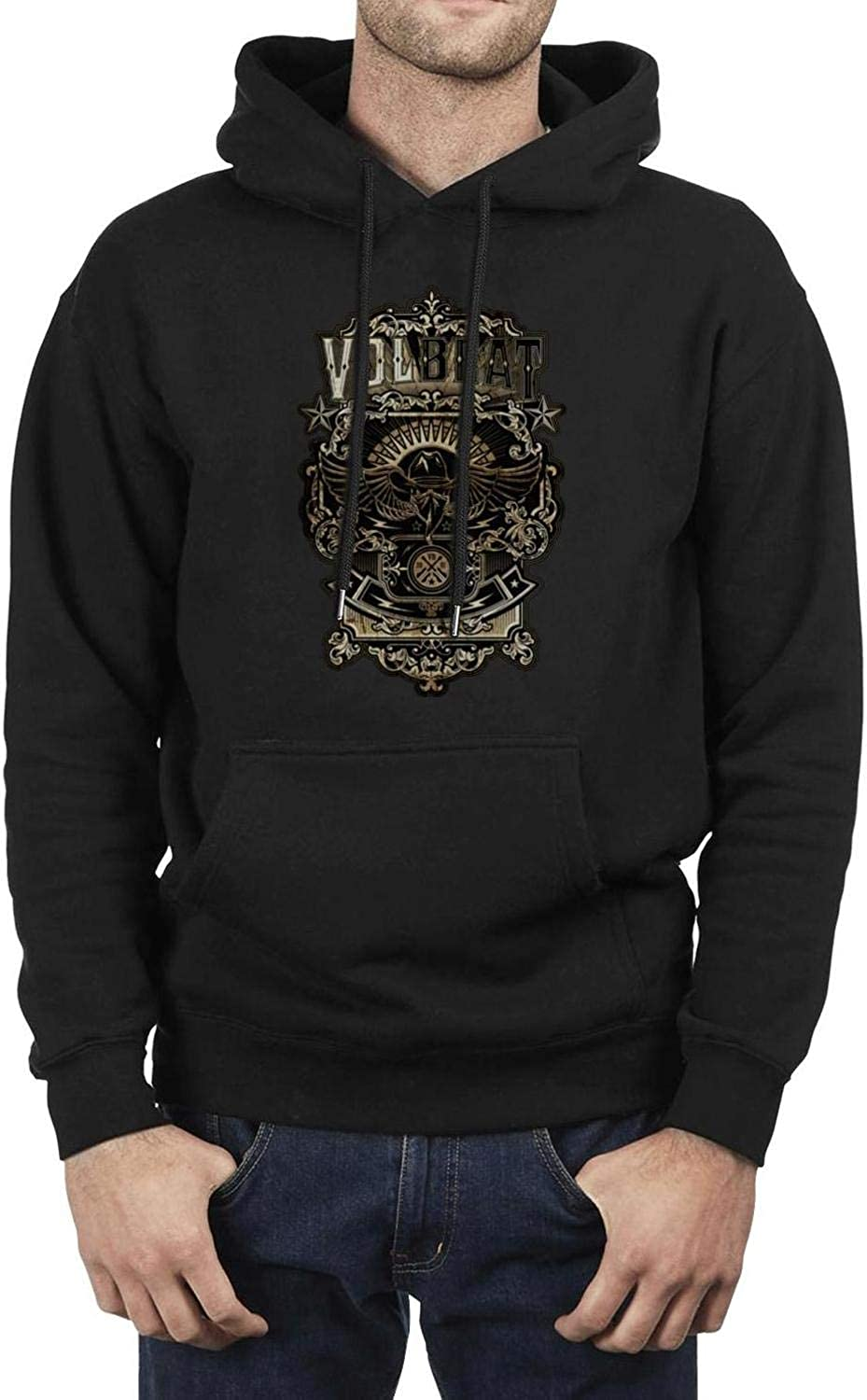 YJRTISF Popular Music Pockets Heavy Blend Funny Trending Fleece Hoodie Sweatshirt for Mens Guys